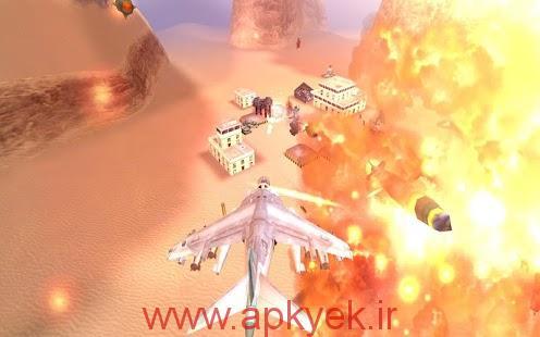 دانلود بازی حمله هلیکوپتر GUNSHIP BATTLE : Helicopter 3D v2.2.4.2 اندروید