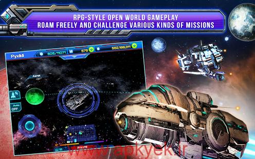 دانلود بازی کهکشان فانتزی Galactic Phantasy Prelude v1.9.6 اندروید