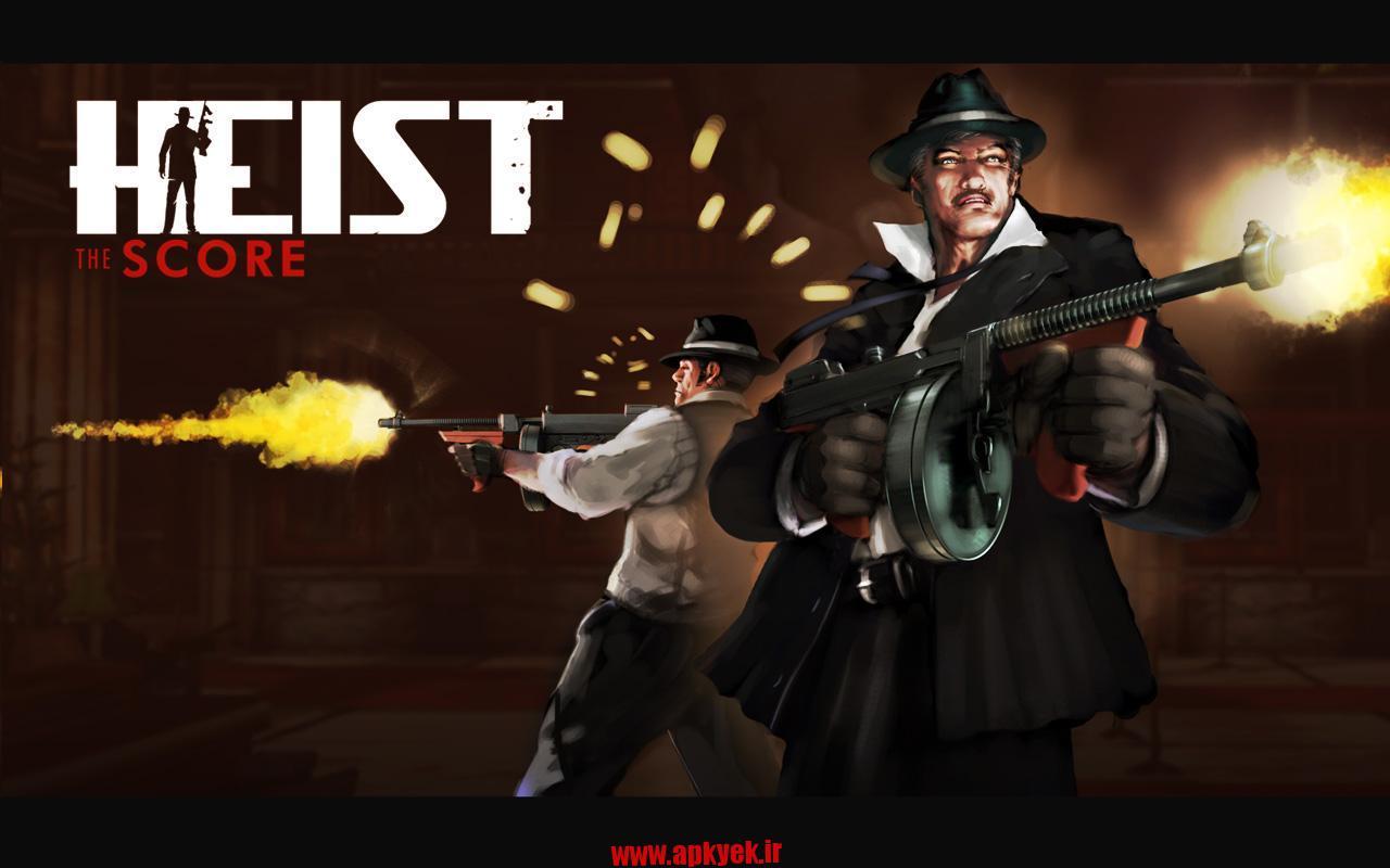 دانلود بازی HEIST The Score v1.1.7 اندروید مود شده