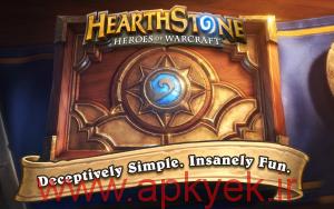 دانلود بازی فکری Hearthstone Heroes of Warcraft 2.3.8108 اندروید مود شده