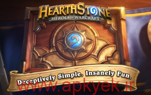 دانلود بازی فکری Hearthstone Heroes of Warcraft 2.5.8416 اندروید مود شده