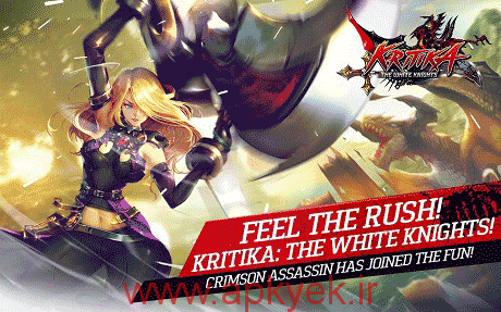 دانلود بازی پادشاه شوالیه های سفید Kritika The White Knights 2.18.3 اندروید مود شده