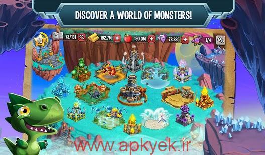 دانلود بازی افسانه هیولا Monster Legends 3.1 اندروید
