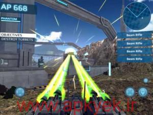 دانلود بازی جنگ ربات ها MetalWars3 1.2.3 اندروید