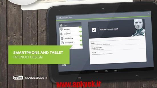 دانلود آنتی ویروس ESET Mobile Security & Antivirus 3.0.1305.0 اندروید