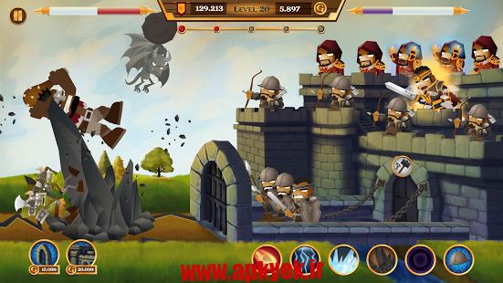 دانلود بازی هیولا راش Monster Rush! v1.0.0 اندروید مود شده