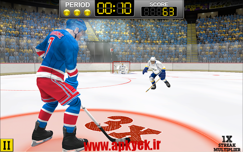 دانلود بازی هاکی روی یخ NHL Hockey Target Smash v1.2.0 اندروید مود شده