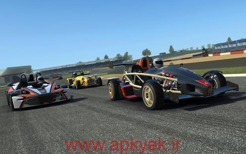 دانلود بازی مسابقات واقعی Real Racing 3 4.7.3 اندروید مود شده پول بی نهایت باز بودن تمام ماشین ها