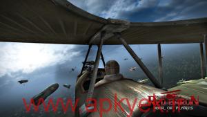 دانلود بازی جنگ هوایی Red Baron: War of Planes v1.9 اندروید مود شده