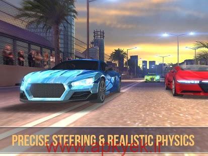 دانلود بازی سه بعدی مسابقات ماشین واقعی Speed Cars: Real Racer Need 3D v1 اندروید