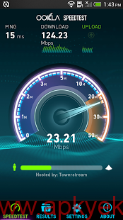 دانلود نرمافزار تست سرعت اینترنت Speedtest.net Premium 3.2.14 اندروید نسخه خریداری شده