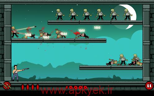 دانلود بازی زامبی احمق Stupid Zombies 1.12.3 اندروید