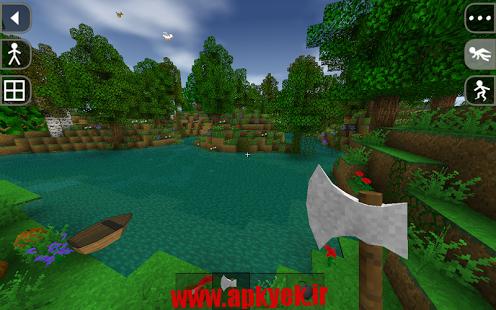 دانلود بازی شکارچی Survivalcraft Demo 1.27.3.0 اندروید