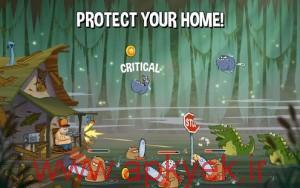 دانلود بازی حمله در باتلاق Swamp Attack 1.7 اندروید