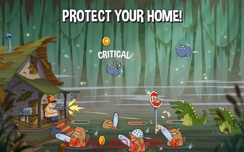 دانلود بازی حمله در باتلاق Swamp Attack 2.0.1 اندروید مود شده