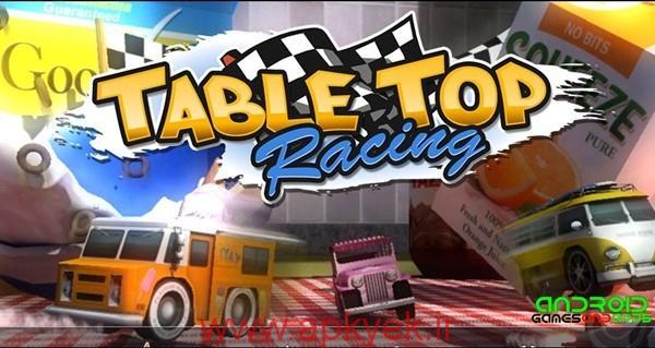 دانلود بازی ماشین سواری Table Top Racing Premium 1.0.40 اندروید نسخه پولی