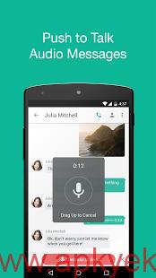دانلود نرمافزار تماس رایگان Talkray – Free Calls and Text 3.31 اندروید