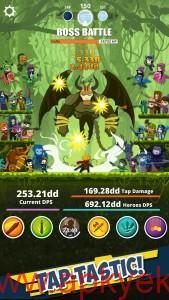 دانلود بازی Tap Titans 3.0.9 اندروید مود شده پول بی نهایت