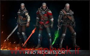دانلود بازی اکشن The Witcher Battle Arena v1.0.4 اندروید