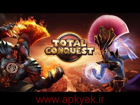 دانلود بازی فتح دسته جمعی Total Conquest 2.1.0e اندروید + فایل دیتا