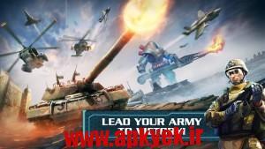 دانلود بازی جهان مدرنWorld at Arms v2.4.2a اندروید