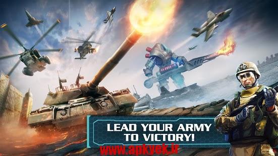 دانلود بازی جهان مدرن World at Arms 2.5.3c اندروید