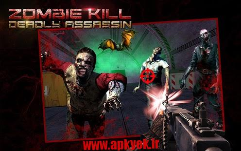 دانلود بازی سه بعدی کشتار مرگبار ابولا ZOMBIE KILL DEADLY ASSASIN 3D 1.1 اندروید