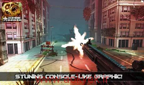 دانلود بازی زامبی Zombie Smashing Zombie Game 1.04 اندروید مود شده