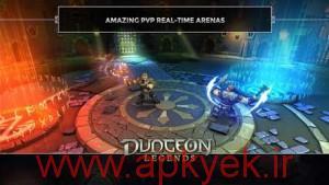 دانلود بازی مامورین زندان Dungeon Legends v0.5 اندروید