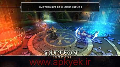دانلود بازی مامورین زندان Dungeon Legends 1.24 اندروید