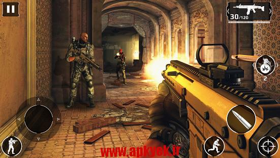 دانلود بازی گرافیکی مدرن کامبت ۵ خاموشی Modern Combat 5: Blackout v1.8.1b اندروید – نسخه کامل