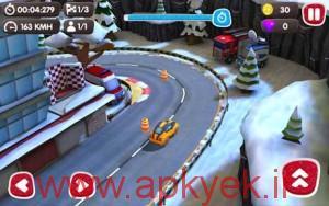 دانلود بازی ماشین سواری سرعتی Turbo Wheels v1.0.1 اندروید همراه دیتا مود شده