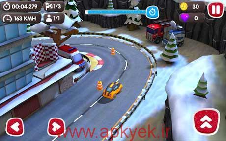 دانلود بازی ماشین سواری سرعتی Turbo Wheels 1.1.3 اندروید همراه دیتا مود شده