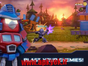 دانلود بازی پرندگان خشمگین ترانسفورماتور Angry Birds Transformers v1.4.25 اندروید مود شده