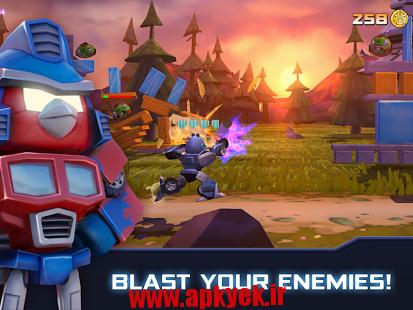 دانلود بازی پرندگان خشمگین ترانسفورماتور Angry Birds Transformers 1.6.29 اندروید مود شده