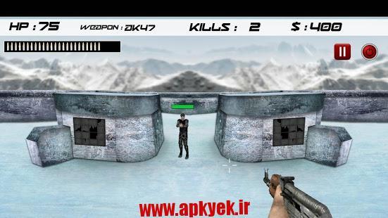 دانلود بازی ارتش تیر انداز Army Shooting Games v1.2.5 اندروید