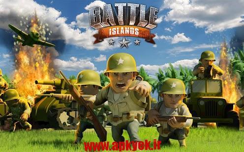 دانلود بازی نبرد جزایر Battle Islands 1.10 اندروید