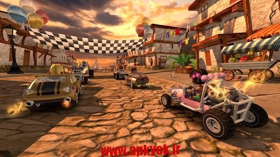 دانلود بازی ساحل خطرناک Beach Buggy Racing 1.2.7 اندروید مود شده