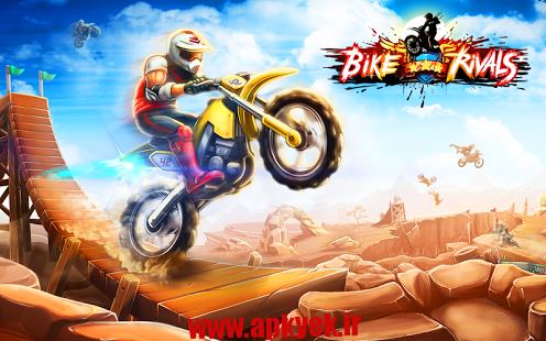 دانلود بازی رقابت موتور سواری Bike Rivals v1.4.0 اندروید مود شده
