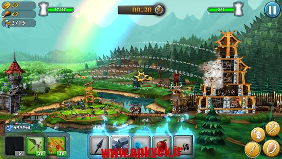 دانلود بازی CastleStorm Free to Siege v1.72 اندروید مود شده