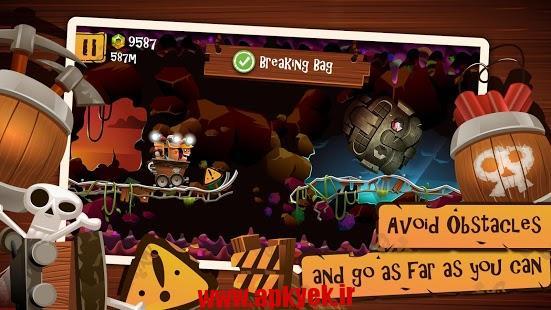 دانلود بازی نگهبان غار Cave Coaster v2.1.2.0 اندروید مود شده