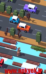 دانلود بازی Crossy Road 1.2.3 اندروید انلاک شده
