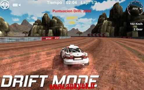 دانلود بازی مسابقات رالی Drift and Rally v1.0.9 اندروید