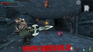 دانلود بازی قهرمانان زندانی Dungeon Hero RPG 11 اندروید مود شده