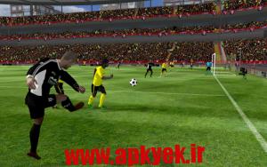 دانلود بازی فوتبال First Touch Soccer 2015 v2.06 اندروید مود شده پول بی نهایت