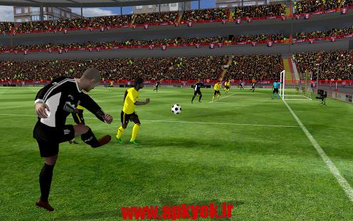 دانلود بازی فوتبال First Touch Soccer 2015 2.09 اندروید مود شده پول بی نهایت