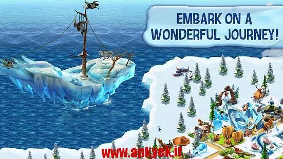 دانلود بازی عصر یخ بندان روستا Ice Age Village 3.2.0i اندروید