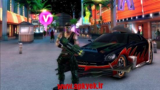 دانلود بازی گرافیکی گانگستر ویگاس Gangstar Vegas 2.9.0o اندروید – همراه دیتا + مود
