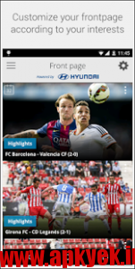 دانلود نرمافزار تلویزیون لالیگا La Liga TV – Official Football 1.23 اندروید