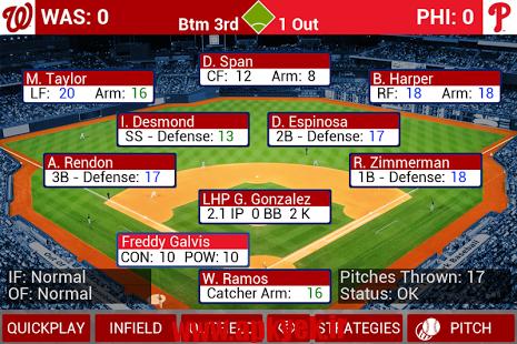دانلود بازی مربی بیس بال MLB Manager 2015 v1.1.6 اندروید